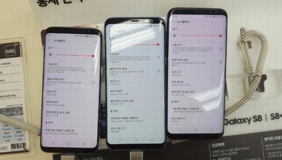 Galaxy S8 Kırmızı Ekran