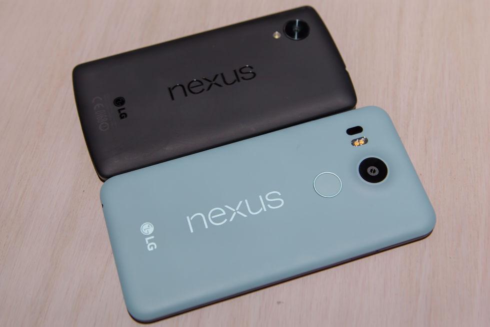 Nexus 6P ve Nexus 5X