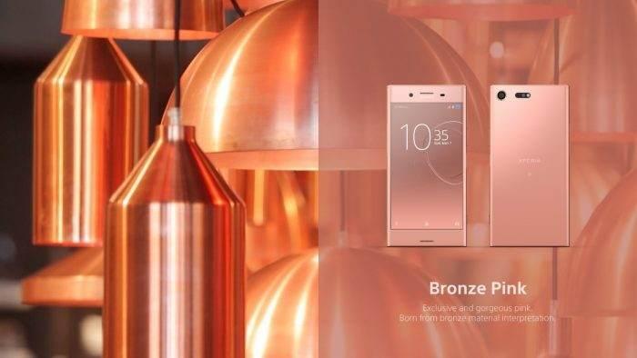 Sony Xperia XZ bronz pembe