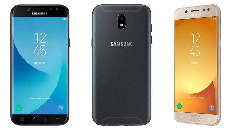 Galaxy J3 (2017) ve Galaxy J5 (2017)