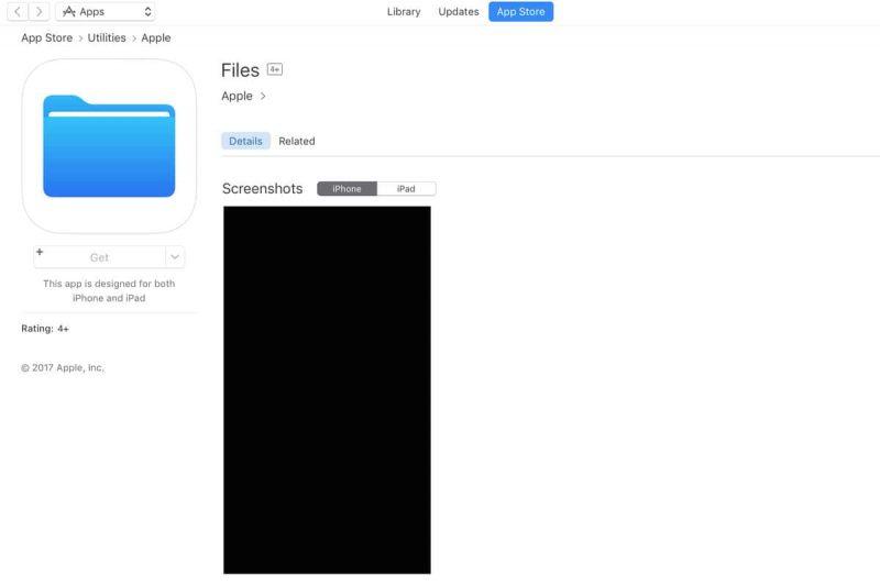 iOS 11 dosyalar