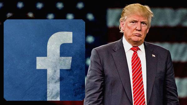 Trump şaşırtmadı! Yeni hedefi Facebook oldu!