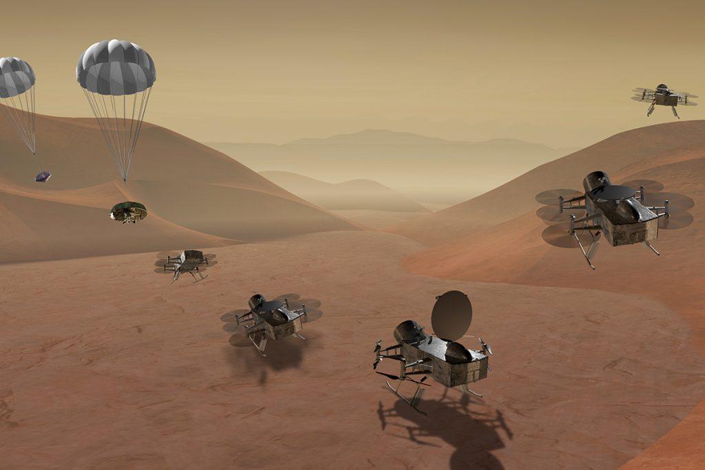 NASA, Satürn'ün uydusu Titan'a gidebilir!