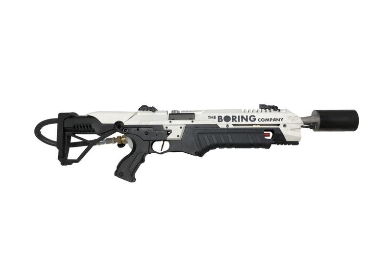 Boring Company alev silahı