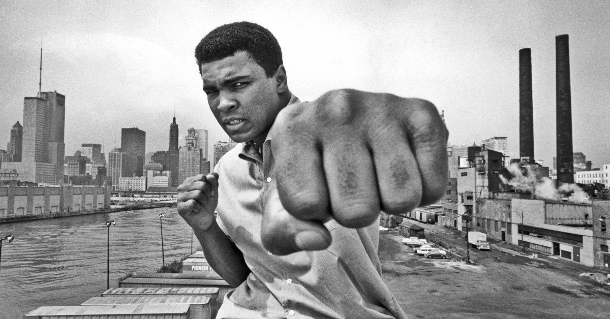 Muhammed Ali iPhone X