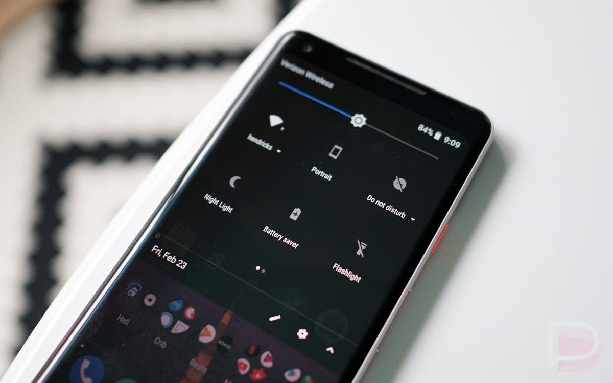 Android P Karanlık Mod