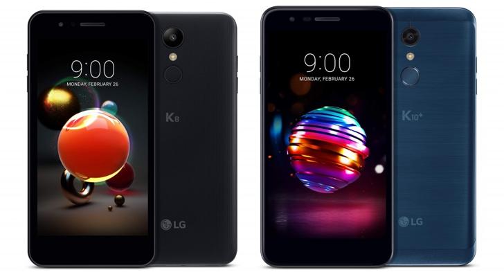 LG K8 ve K10