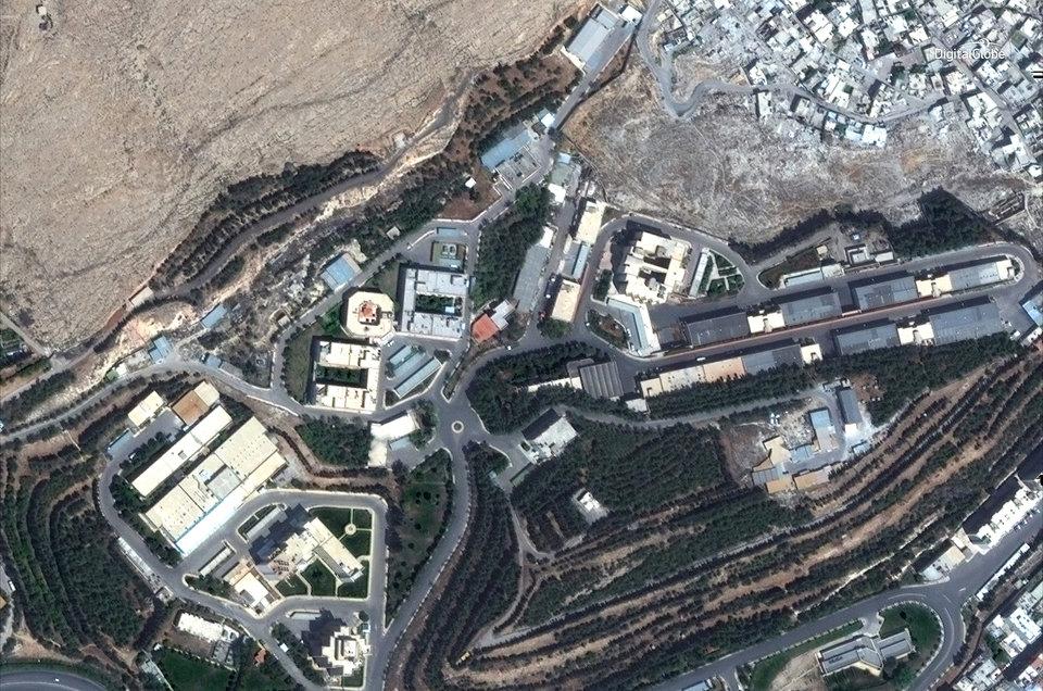 Suriye füze saldırısı