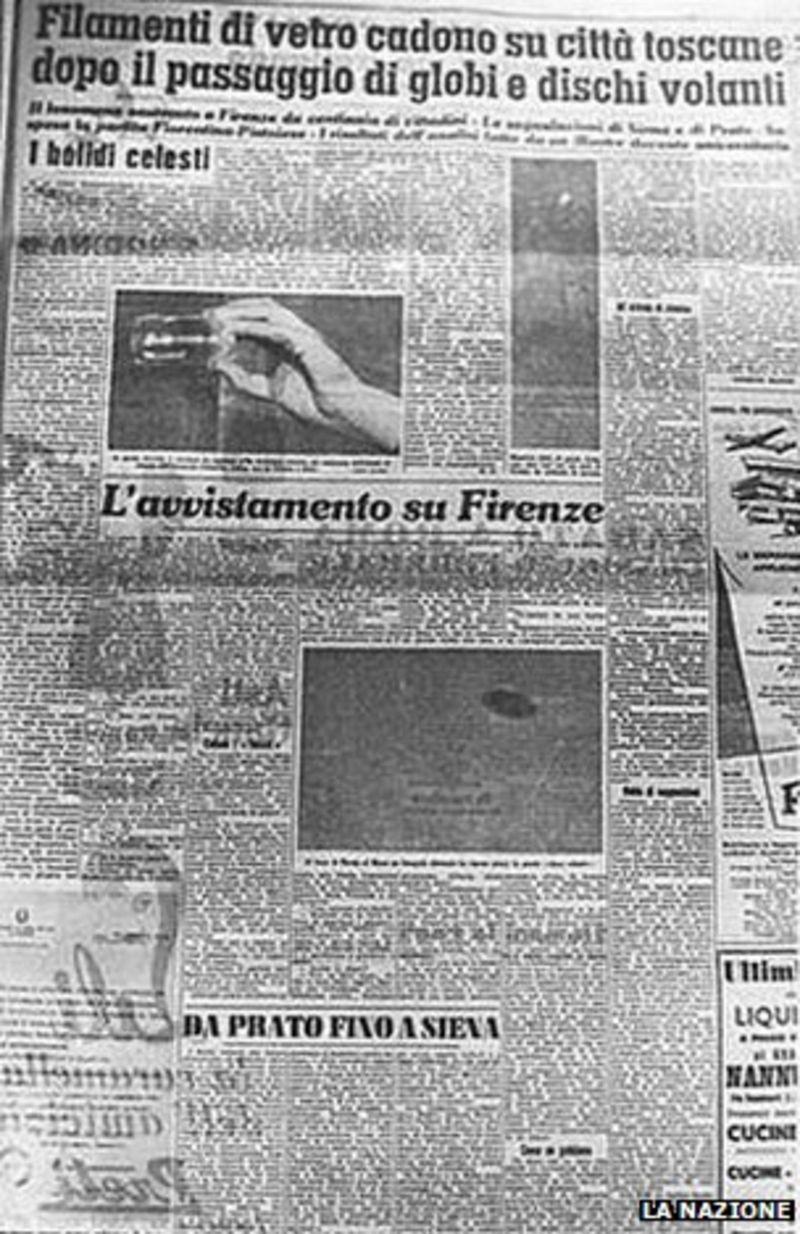 Fiorentina UFO karşılaşması