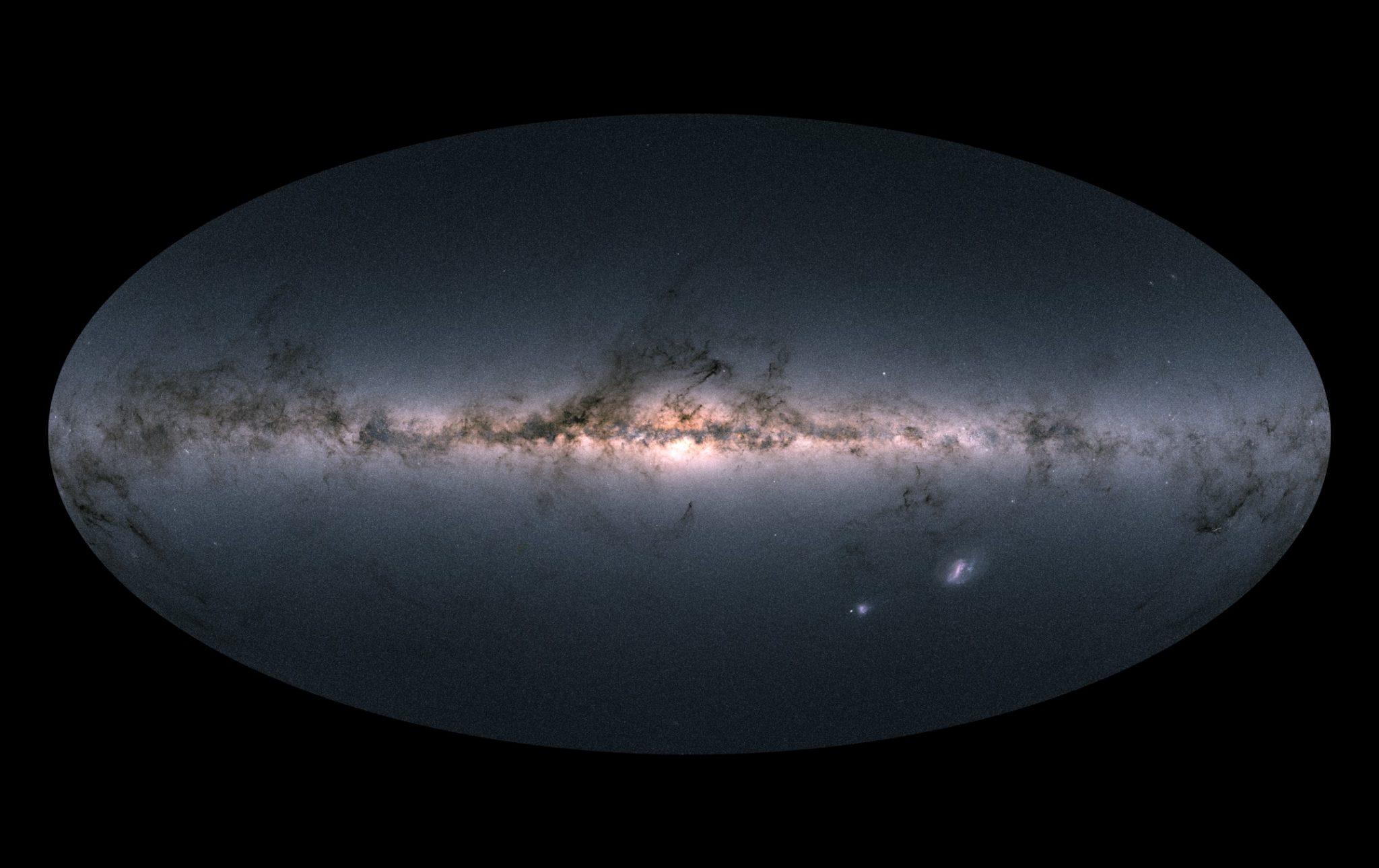 Gaia yıldız haritası