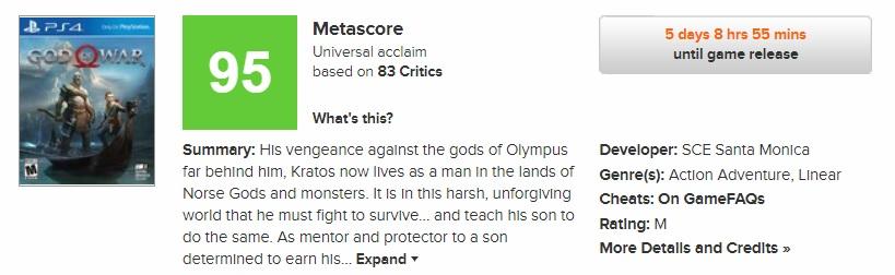 God of War, Gelmiş Geçmiş En İyi Oyunlardan Biri Olacak Gibi Gözüküyor!