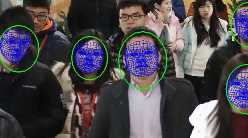 Çin yüz tanıma sistemi