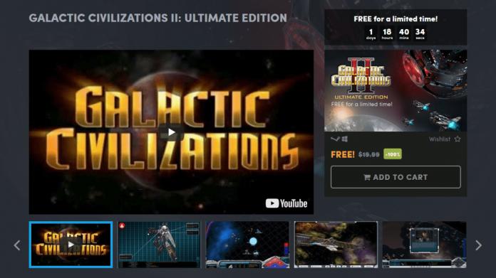 Galactic CivilizationsII Ultimate Edition