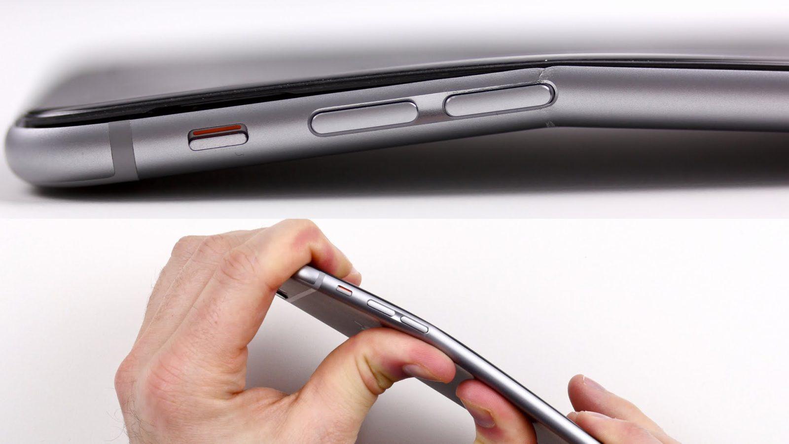 Apple iPhone 6 bükülme sorunu