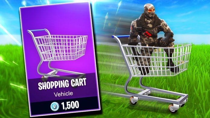 Fortnite alışveriş arabası