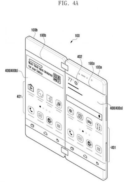 Galaxy X katlanabilir telefon