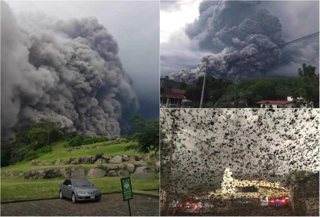 Guatemala yanardağ