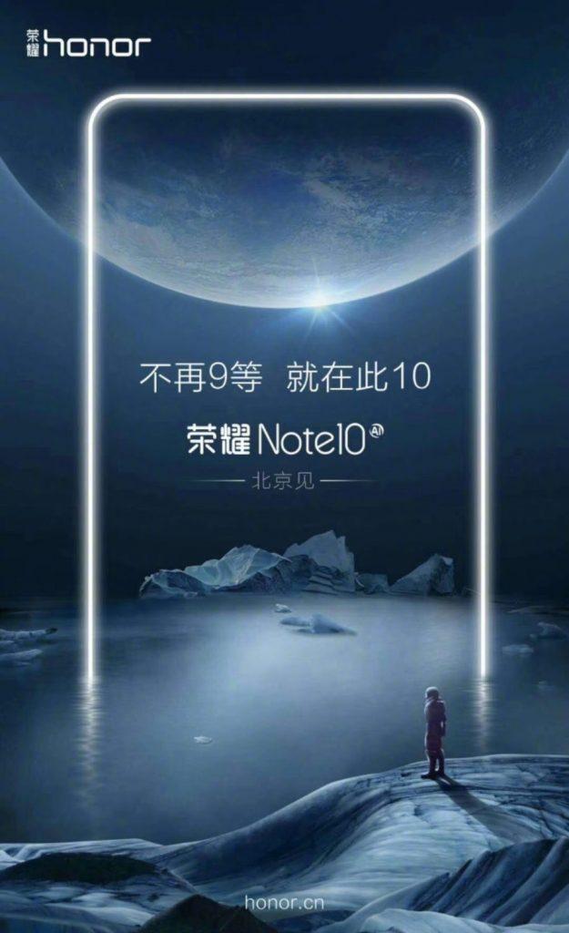 Honor 10 ilk Görsel