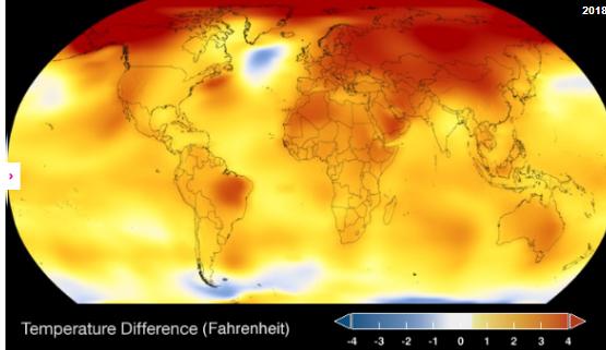 NASA küresel ısınma