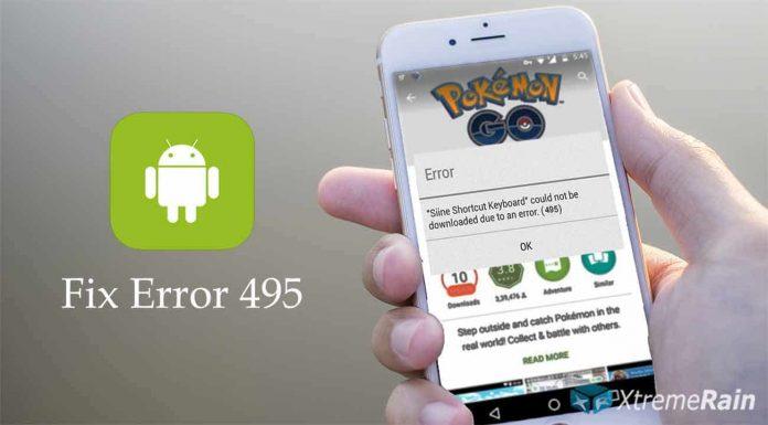 android-error-495