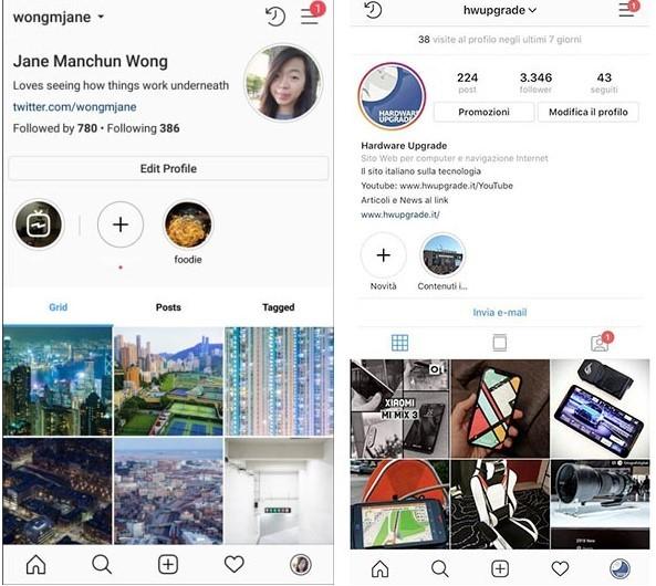 Instagram'a Yeni Tasarıma Sahip Profil Sayfaları Geliyor