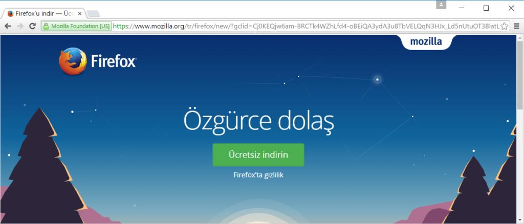 Firefox Tarayıcı