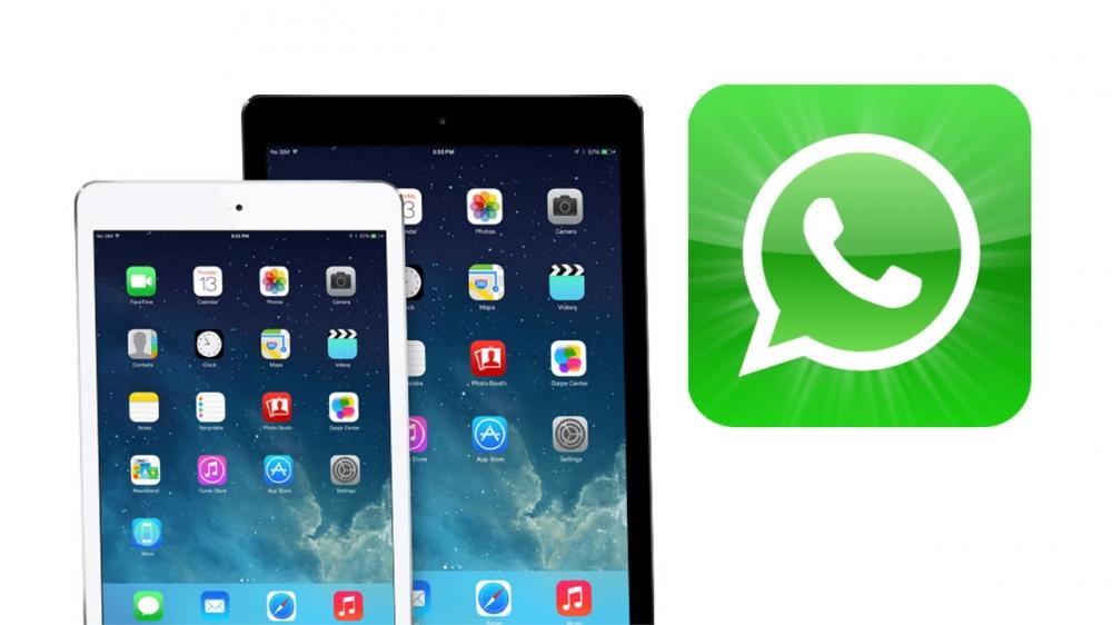 iPad WhatsApp