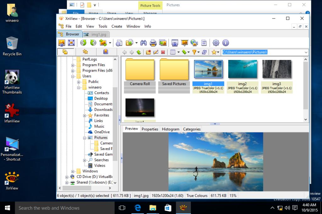 Windows 10 Fotoğraf Görüntüleyicisi