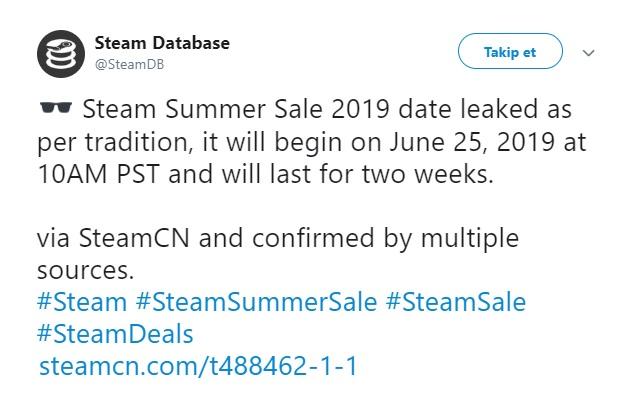 Steam yaz indirimi