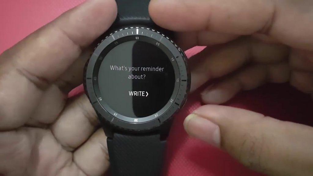 Samsung Gear S3 Ekran Görüntüsü