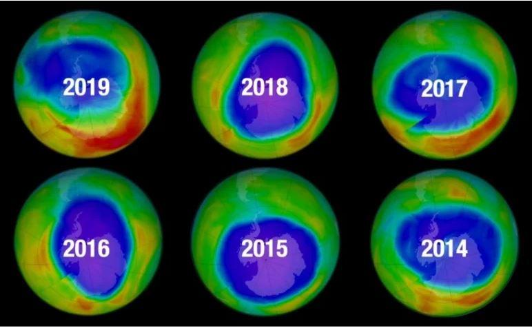 Ozon tabakası Değişim