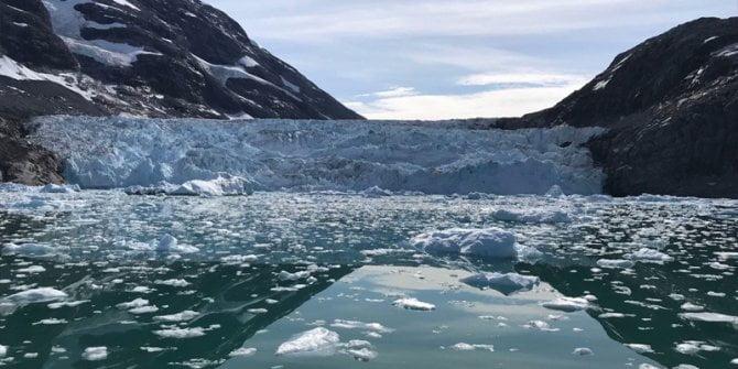 Sibirya'da buzullar rekor düzeyde azaldı