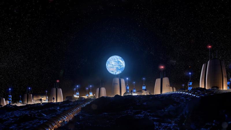 Avrupa Uzay Ajansı Ayda İnşa Edilecek Olan Evlerin Görsellerini Paylaştı