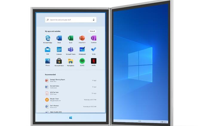 Windows 10X videosu