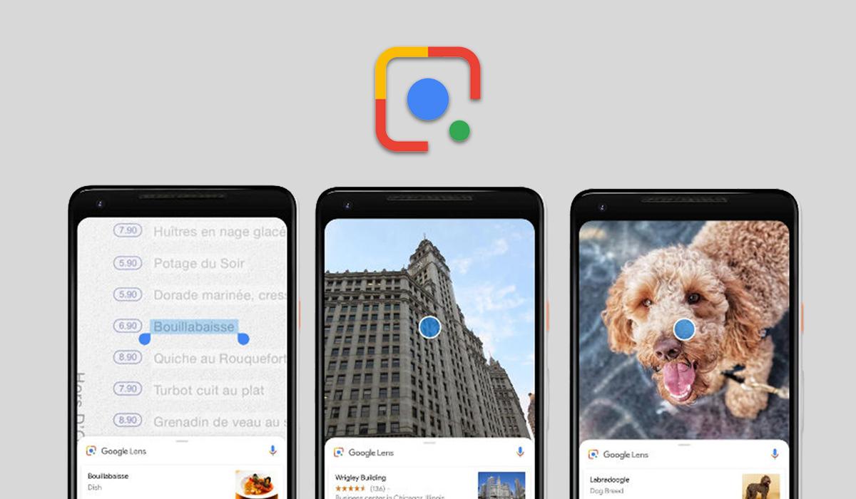 Google Lens Tekrar Logosunu Değiştiriyor